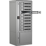 Bretford TCLAR0200EF11 TechGuard Connect 10-Bay Charging Locker