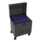 Bretford TVTL40PAC-SKY 40-Device CUBE Toploader Charging Cart
