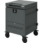 Bretford TVTLM26PAC 26-Device CUBE Toploader Mini Charging Cart