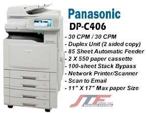 PANASONIC WORKIO DP-C406 PCL PRINTER DRIVERS WINDOWS XP