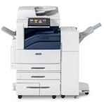 Xerox EC7856 Multifunctional Color Printer comes standard w/ 130 Sheet DADF, 5 Paper Cassettes & Supplies