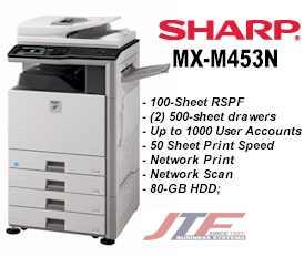MX-M453N