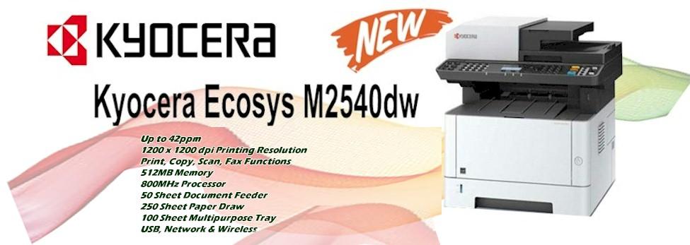 Kyocera M2540DW Printer : Ecosys M2540DW