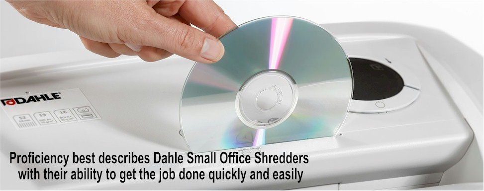 Dahle Paper Shredders : Office Shredders