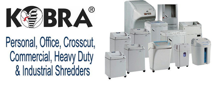 Kobra Shredders : Workgroup Shredders
