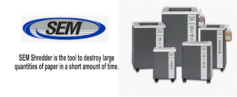 SEM Paper Shredders : Workgroup Shredder