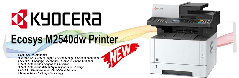 Kyocera Copiers : Kyocera Desktop M2540DW Printer