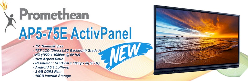 Promethean Flat Panel | Promethean Interactive Boards